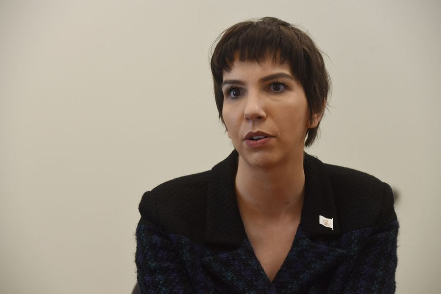 "AT DAILYHERALD.COM/VIDEO: 81st District state Rep. Anne Stava-Murray stands by her comment that Naperville has a ""history of white supremacist policies."""