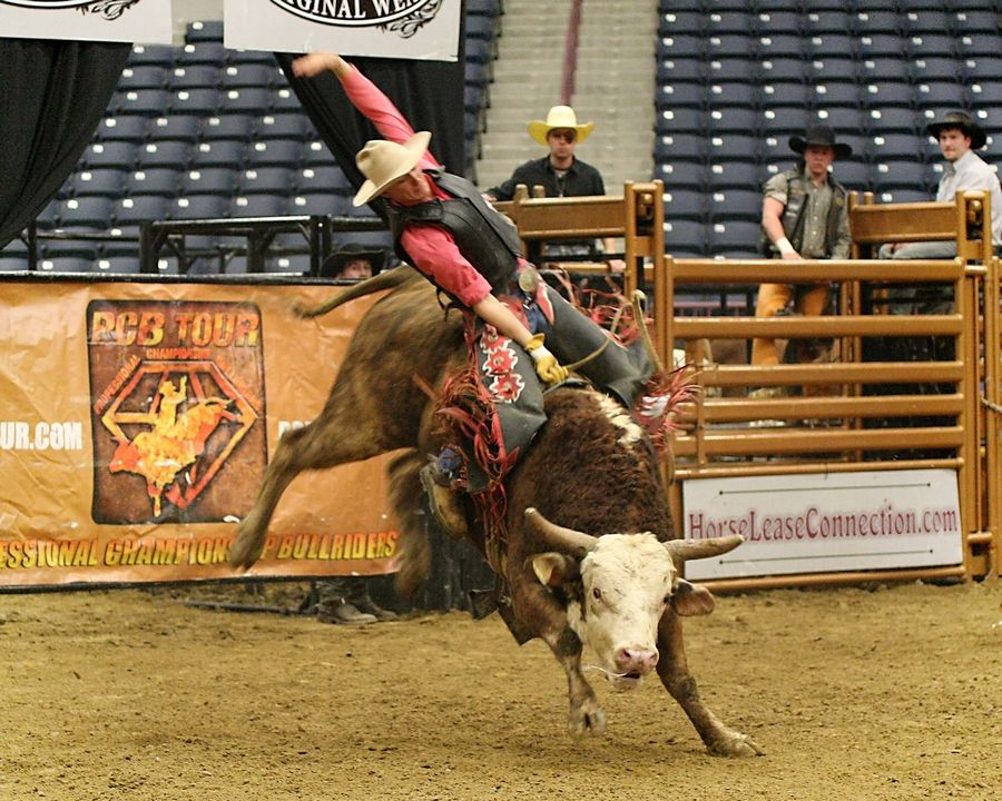 The Professional Championship Bull Riders World Tour Finale XIII is at the Sears Centre Arena in Hoffman Estates on Friday and Saturday, Feb. 1 and 2.
