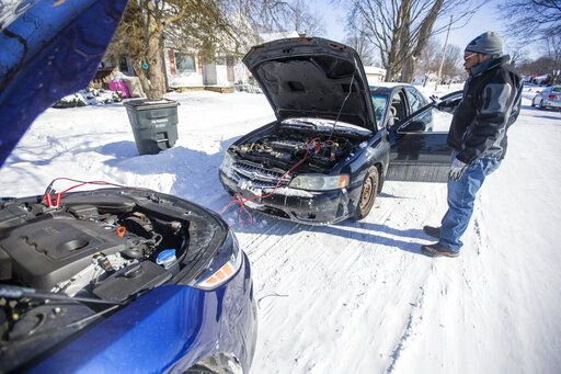 Power restored to most in central Indiana amid extreme cold