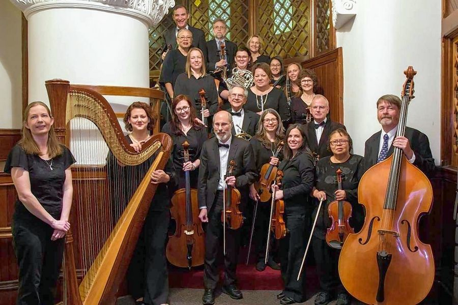 The original Fermi Community Orchestra had 19 members. Now it has grown to 31. It is accepting violin, viola, cello, bass, flute, oboe, clarinet, bassoon and French horn players.