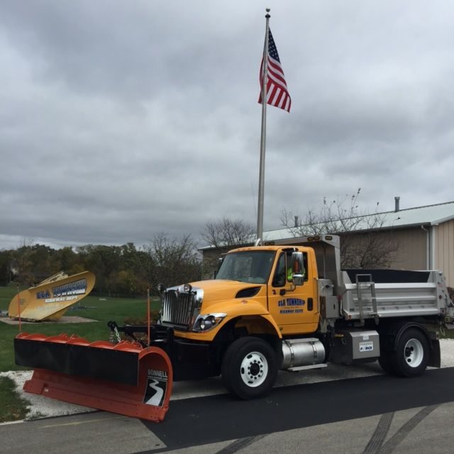 The Ela Township Highway Department and its fleet of 14 snowplowing vehicles was a new recipient in 2018 of the Salt Institute's Safe and Sustainable Snowfighting Award.