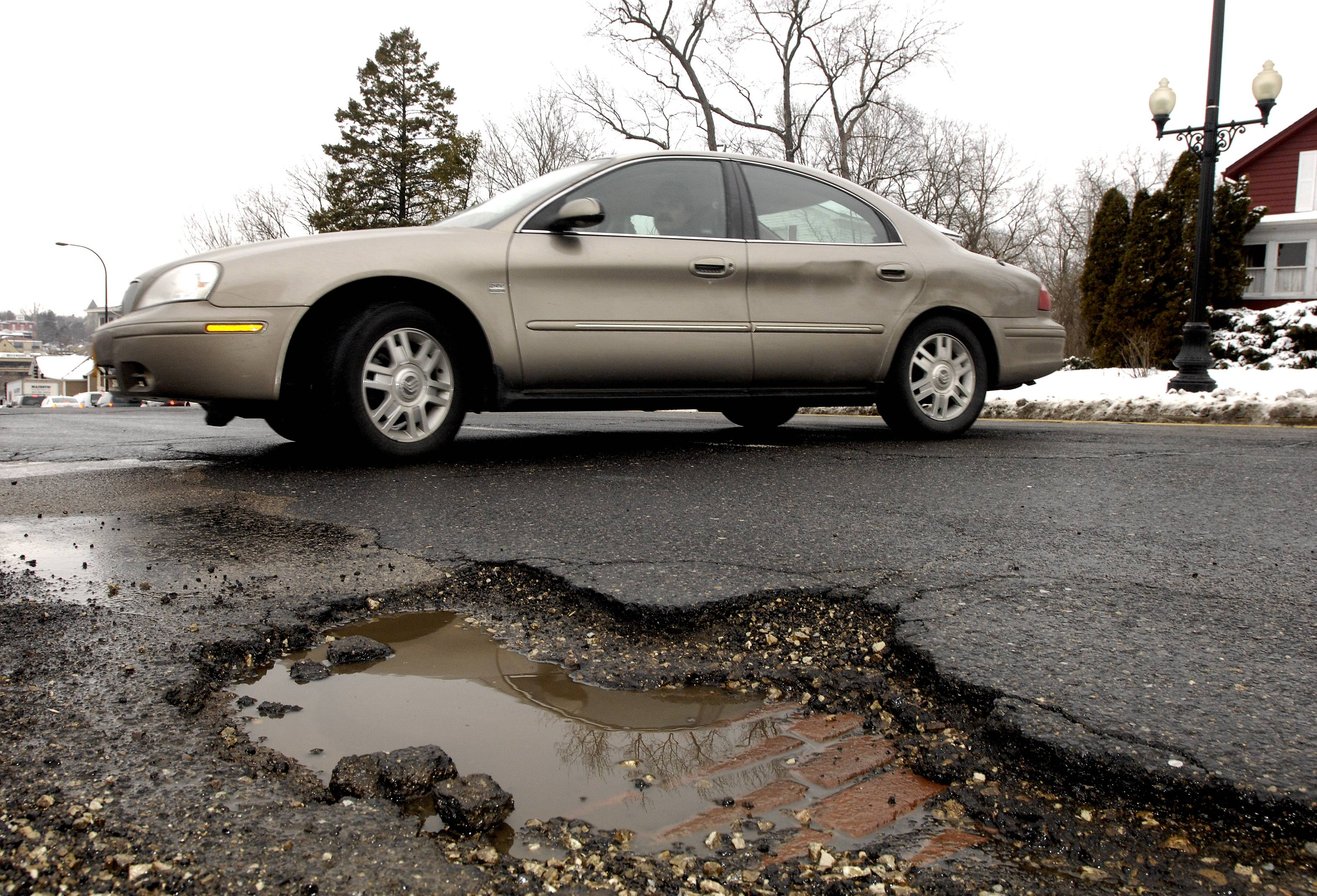 The thaw coming this weekend after the recent deep freeze is expected to cause an increase in potholes on area roads, particularly among those already in poor condition.