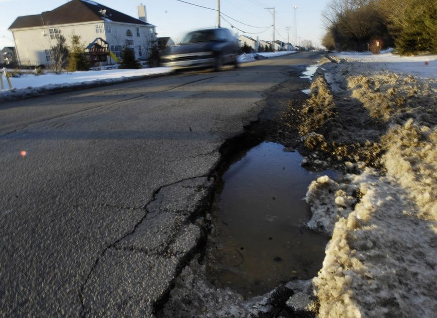 The thaw coming this weekend on the heels of the deep freeze is expected to cause more potholes on area roads, particularly among those already in poor condition.