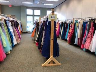 Donations of prom dresses, shoes and accessories are being accepted at the Batavia Public Library for CHIP IN, Batavia's fifth annual Prom Dress Giveaway, which takes place 9 a.m. to 4 p.m. Saturday, March 16, at the library.