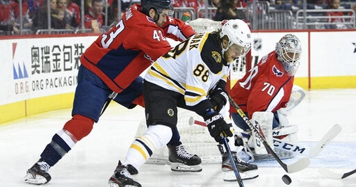 Bruins shut out Capitals to end 14-game skid vs. Washington 834400092769