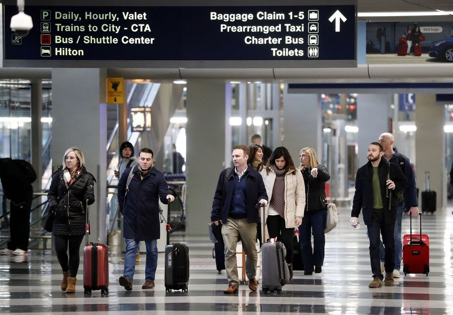 O'Hare rules as the nation's busiest airport as of 2018 numbers.