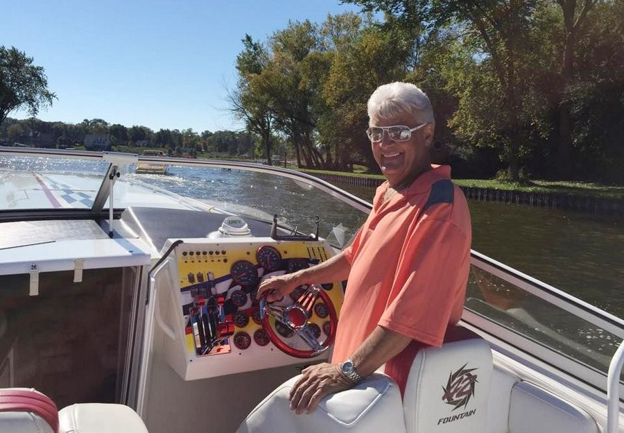 Ron Michalek owns a 42-foot boat that would be banned from operating on the Chain O' Lakes if legislation proposed by state Sen. Julie Morrison, a Democrat from Deerfield, were approved. Morrison said her legislation aims to reduce congestion on the Chain.