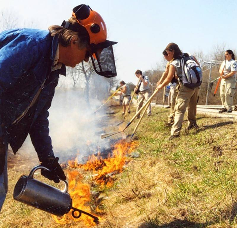 As part of the Native Plant Management program on Saturday, Feb. 16, museum biologist Jerome Johnson will discuss how to use controlled burns or other methods at Garfield Farm Museum in Campton Hills.