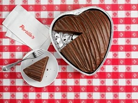 Portillo's heart-shaped chocolate cake returns Feb. 8-17.