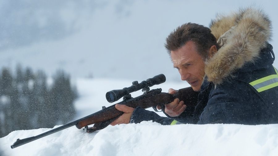 "A Colorado snowplow driver (Liam Neeson) goes on a vigilante rampage to avenge his son's death in ""Cold Pursuit."""