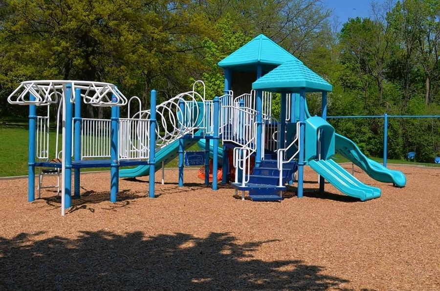 The play structure at Schultz Recreation Area, 512 W. Northwest Hwy. in Palatine. The Palatine Park District will be replacing the play equipment this summer and the public is invited to voice their opinion on the different structure pieces being considered. Visit palatinepark.org.