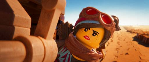 "Lucy/Wyldstyle (voiced by Elizabeth Banks) in ""The Lego Movie 2: The Second Part."""