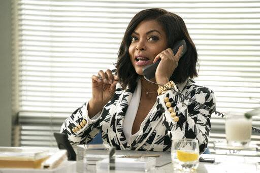 "This image released by Paramount Pictures shows Taraji P. Henson in a scene from ""What Men Want."" (Jess Miglio/Paramount Pictures via AP)"