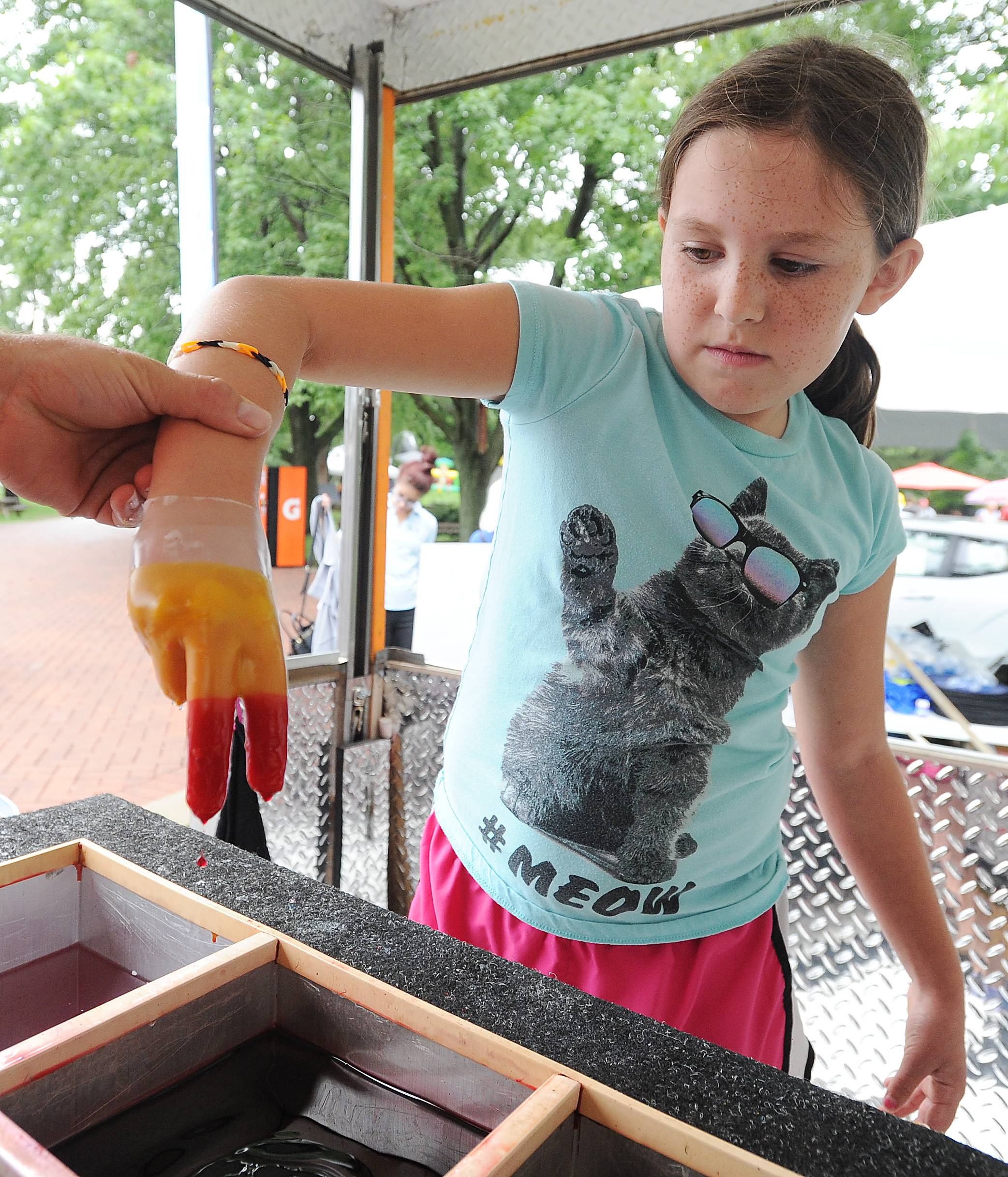 A large family fun area with kids activities is a hallmark of the Last Fling festival in Naperville, which is preparing for its 54th running Aug. 30 to Sept. 2. Organizers say they want to keep the event true to its roots and affordable for families.