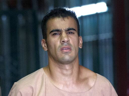 FILE - In this Monday, Feb. 4, 2019, file photo, refugee soccer player Bahraini Hakeem al-Araibi leaves the criminal court in Bangkok, Thailand. A Thai court on Monday, Feb. 11, 2019, has ordered the release of al-Araibi after prosecutors said they were no longer seeking his extradition to Bahrain.