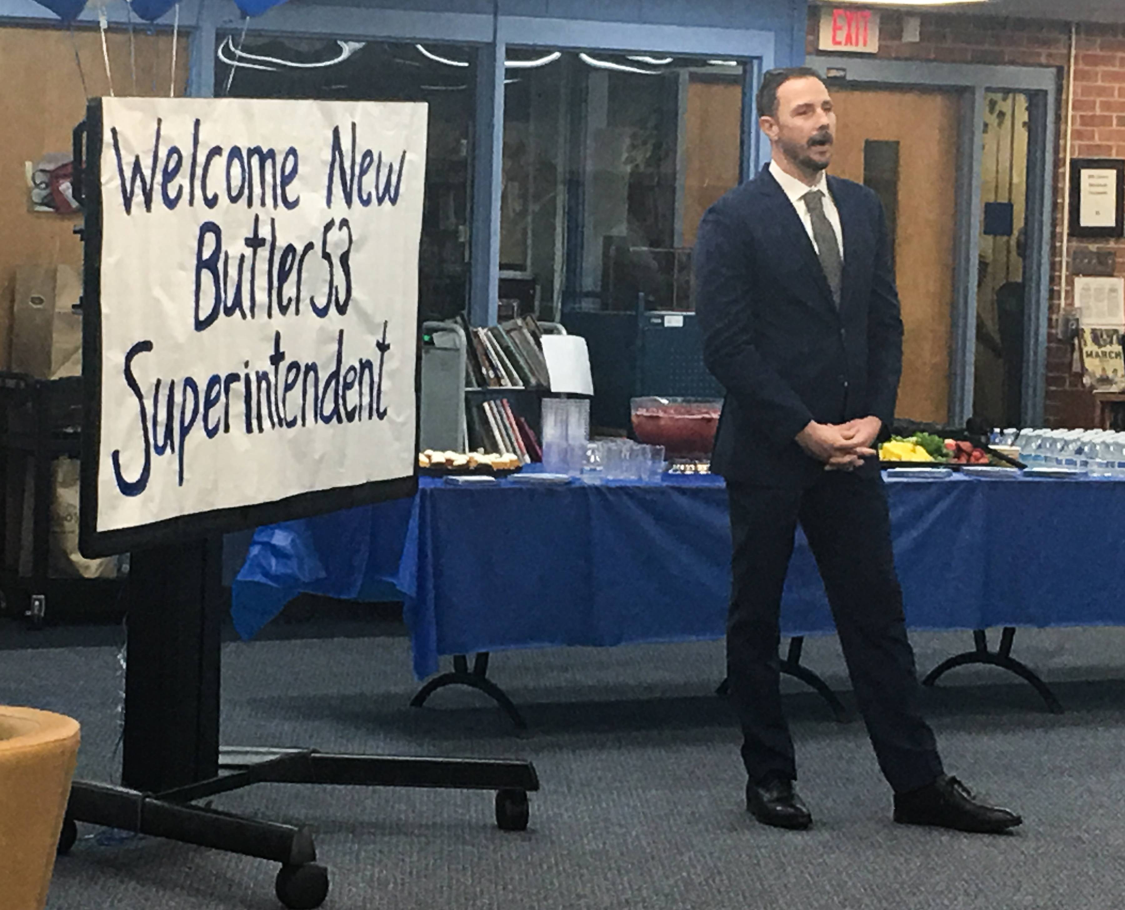 Veteran educator Paul O'Malley has been named superintendent of Butler Elementary District 53 in Oak Brook. He starts work July 1.