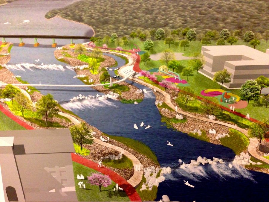 A plan to create a white-water rafting course, an upgraded riverwalk and various other recreational amenities likely would boost tourism and economic activity in St. Charles, according to the preliminary results of a study.