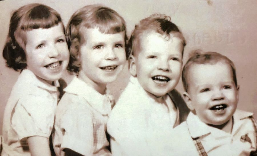 As the fourth child in the Cullen family of Elk Grove Village, Dave Cullen, far right, would later get five younger siblings as well. After graduating from Elk Grove High School and the University of Illinois, Cullen has become a best-selling author and an expert on mass shootings.