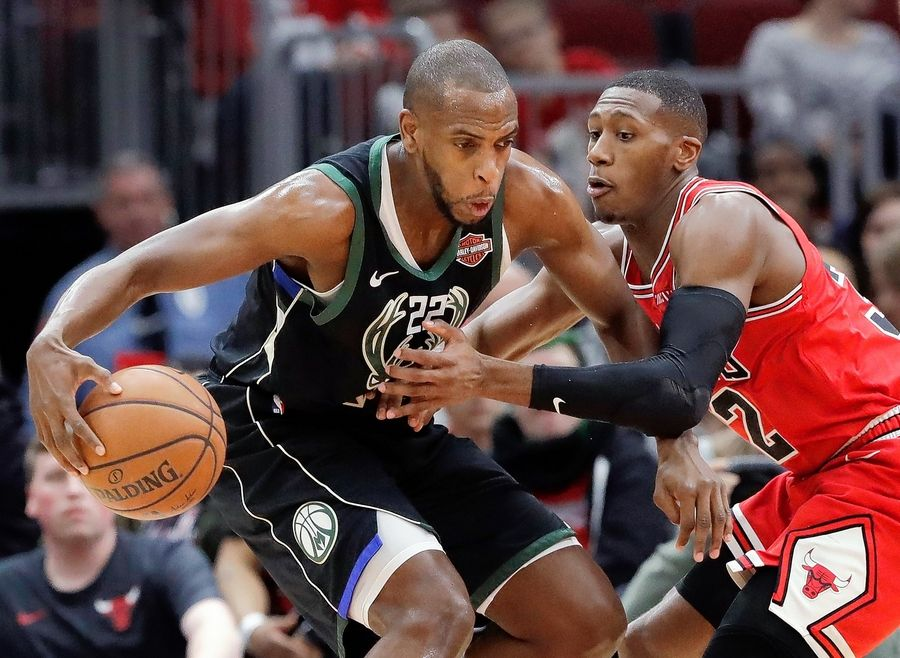 After taking a hard fall in the third quarter of Monday's loss to Milwaukee, Bulls point guard Kris Dunn missed Tuesday's practice with a bruised tailbone.