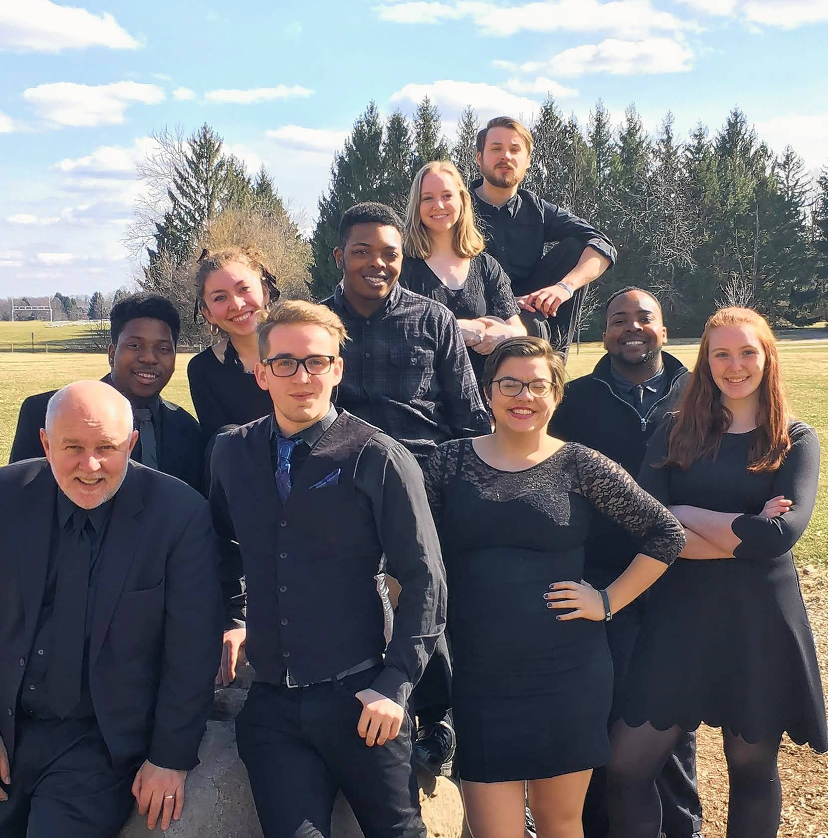 The Briton Singers from Albion College in Michigan will perform at the next Highland Coffeehouse on Friday, March 1.