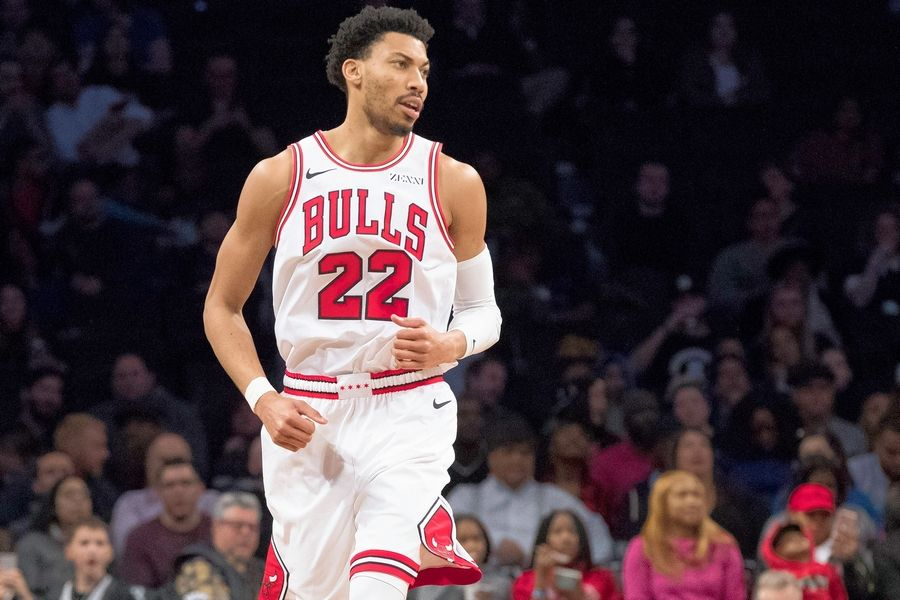 The Bulls starting lineup has looked better since adding Otto Porter Jr. from Washington, and that's before he even had his first practice with his new team on Tuesday.