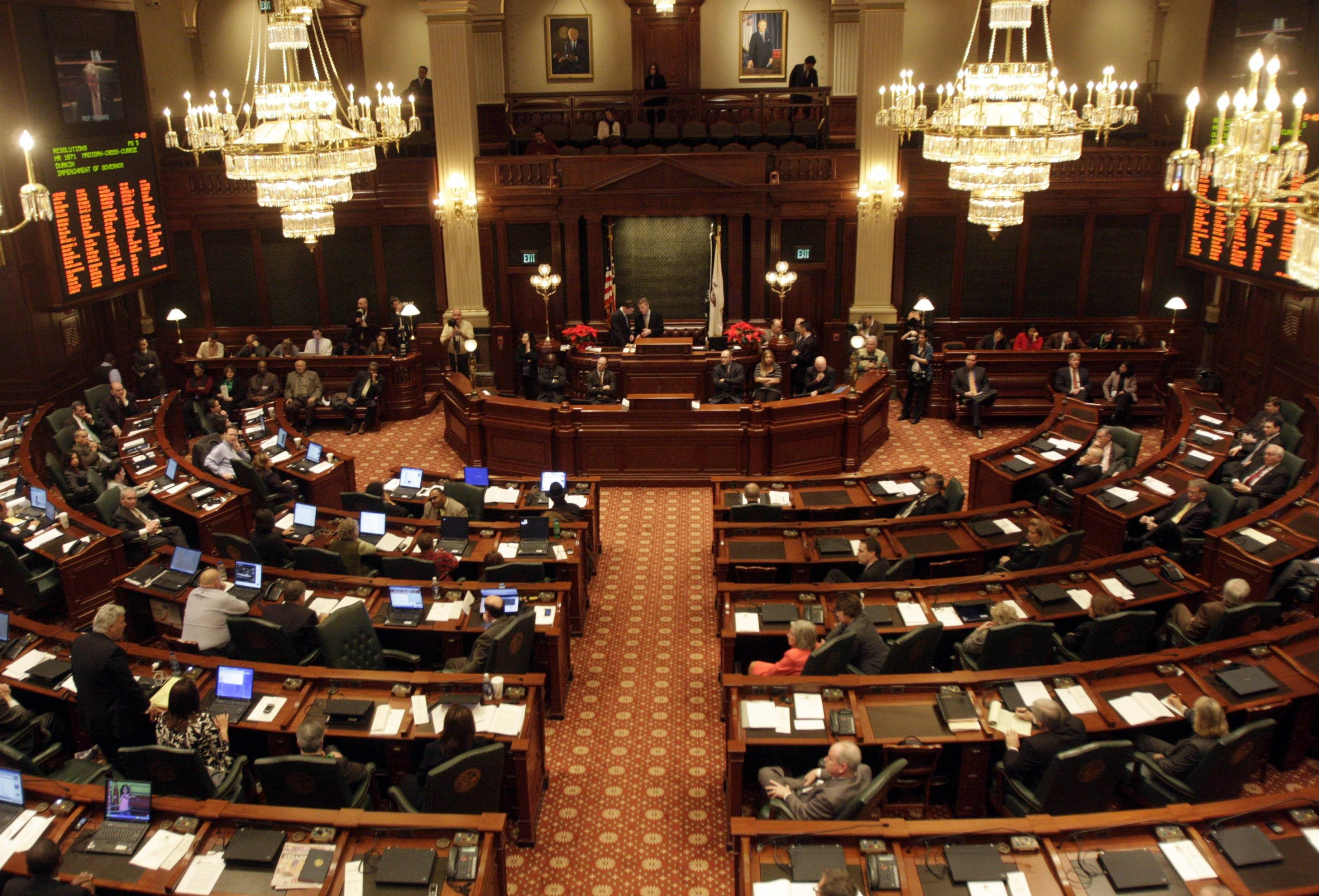 The Illinois Constitution calls for three readings of a bill, but shell bills circumvent that requirement.