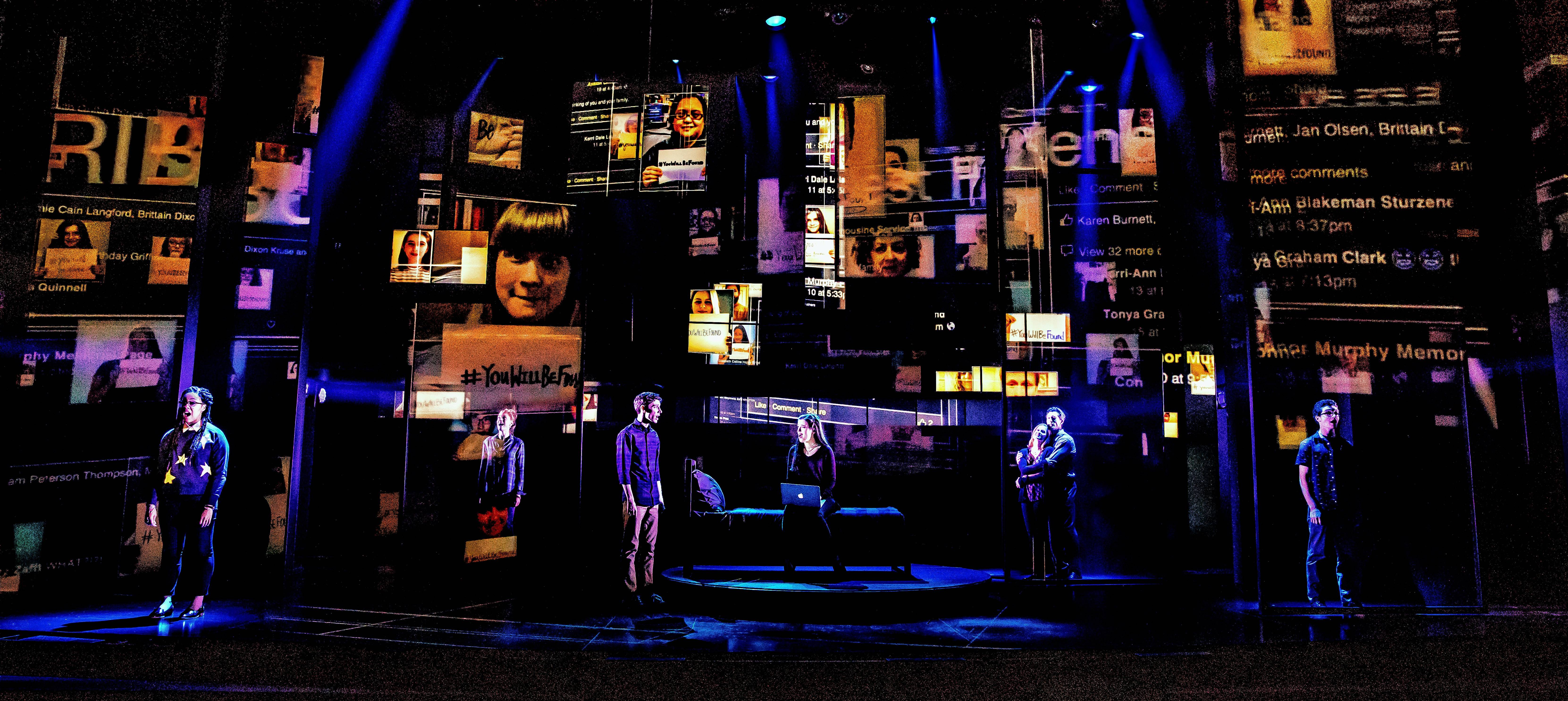 "The Tony Award-winning ""Dear Evan Hansen"" plays Chicago as part of its first national tour."