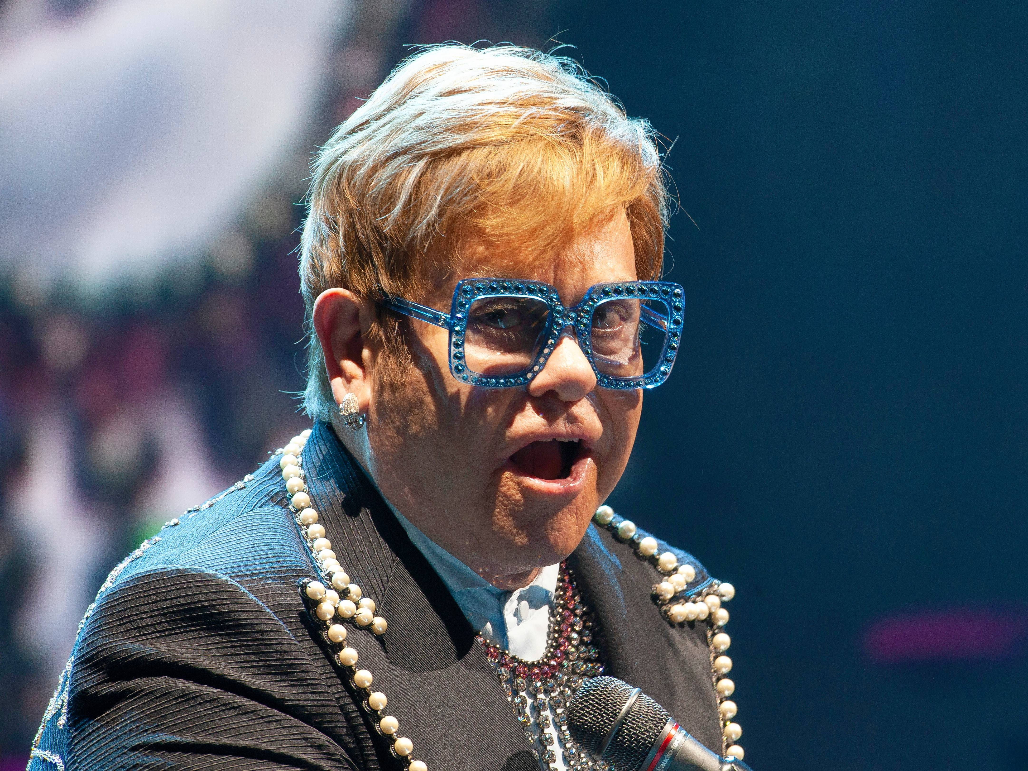 "Elton John brings his ""Farewell Yellow Brick Road"" tour to Rosemont's Allstate Arena Friday and Saturday, Feb. 15-16."
