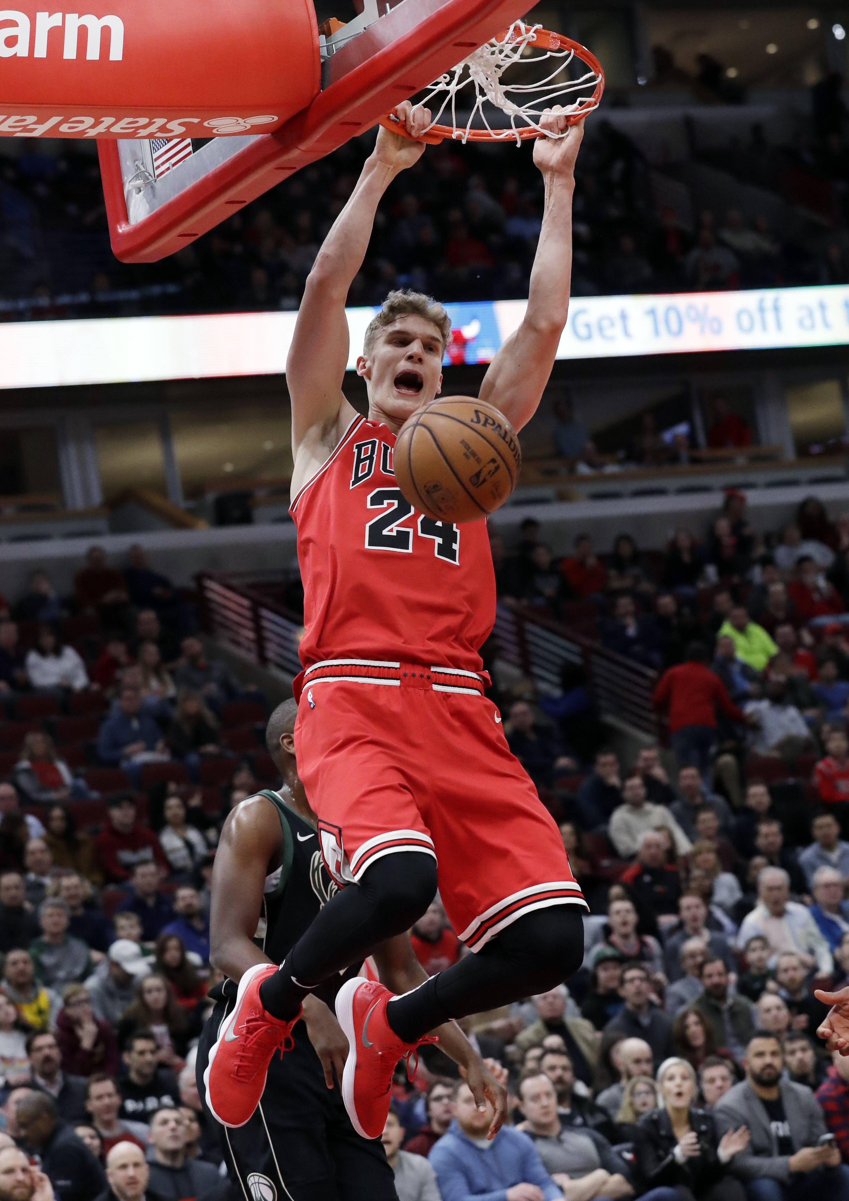 Bulls forward Lauri Markkanen has played lights out after missing the first 23 games of the season.