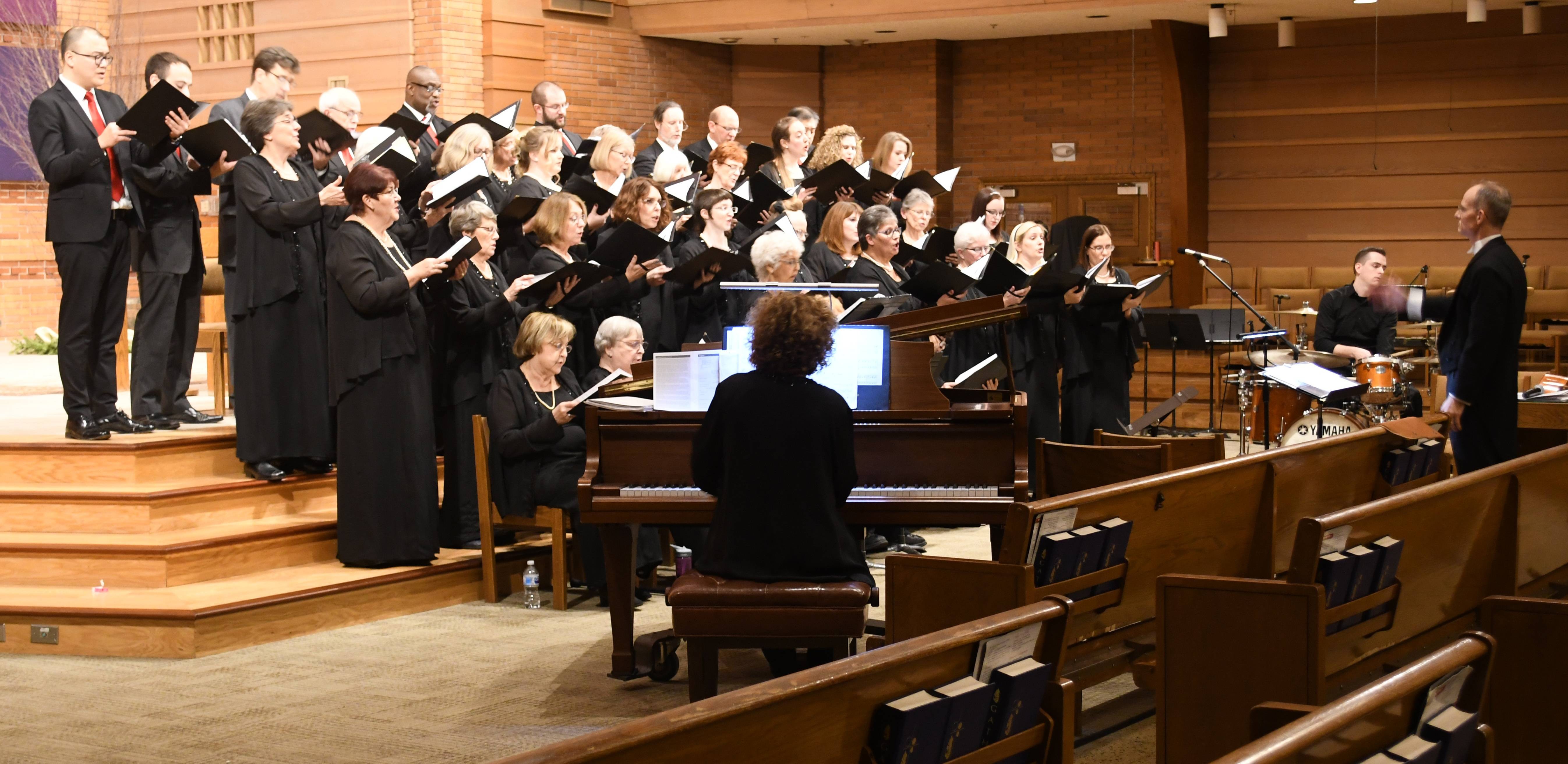 "Northwest Choral Society performed its holiday concert, ""Once, As I Remember: Old and New Music for Christmastime,"" at St. Raymond de Penafort Church in Mt. Prospect. Northwest Choral Society"