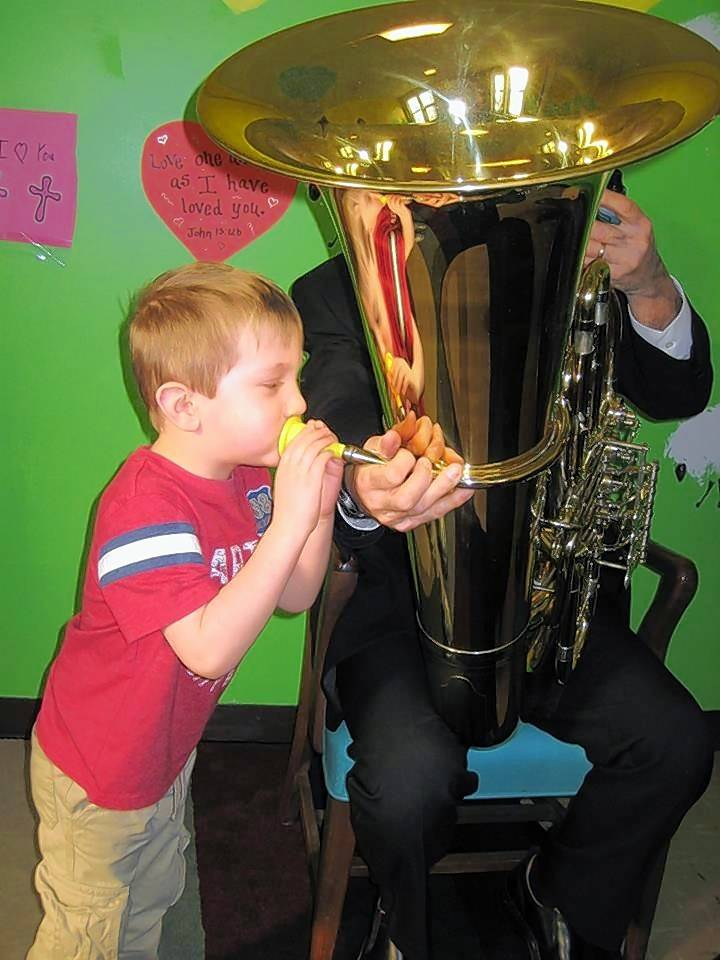 On Sunday, Feb. 24, the Fox Valley Philharmonic Children's Concert offers hands-on opportunities for kids to try out various orchestral instruments. All kids will get to conduct the orchestra.