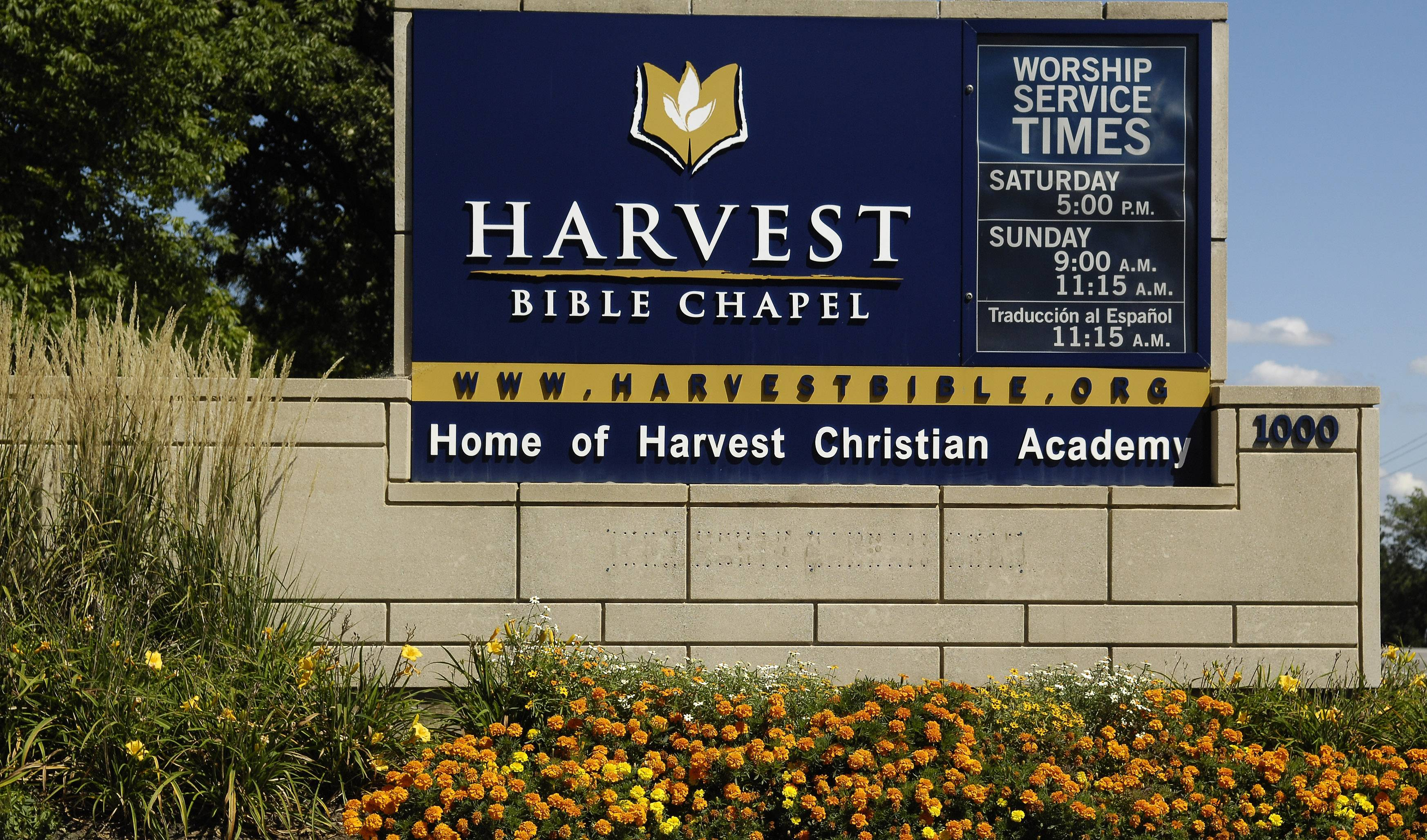 Harvest Bible Chapel founder's sons resign as pastors
