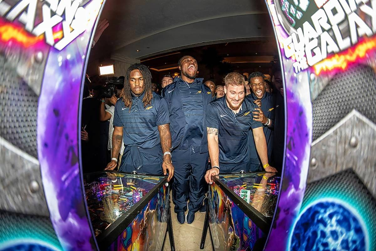 "Elk Grove Village-based Stern Pinball hosted a tournament for players in the 2018 Makers Wanted Bahamas Bowl. Stern is getting a half-hour show on ESPN ""The Ocho"" in August featuring its championship tournament."
