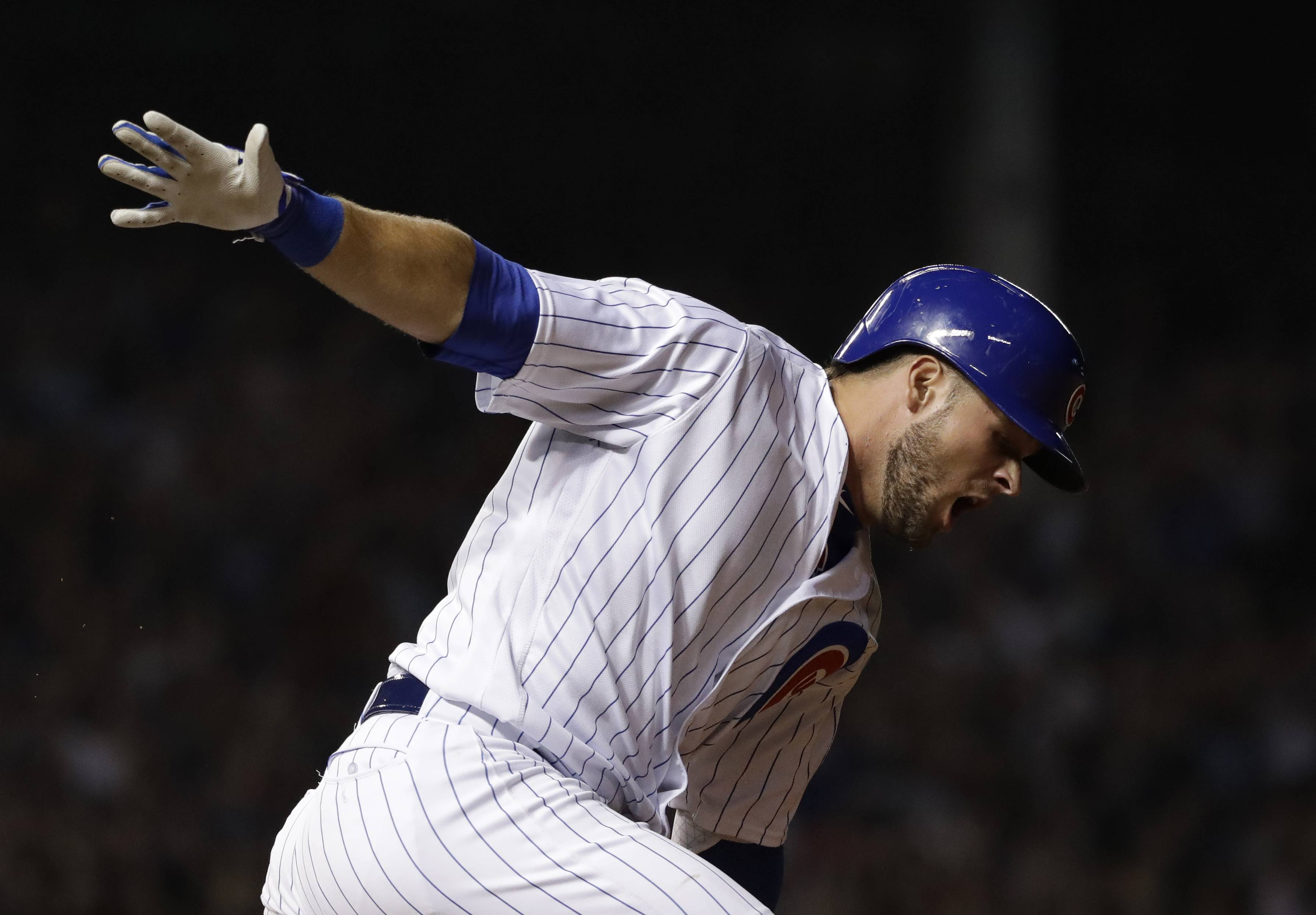 Bote's not basking, he's tasking in bid to stick with Chicago Cubs