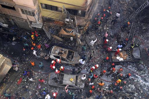 Fire in old part of Bangladesh's capital kills at least 70