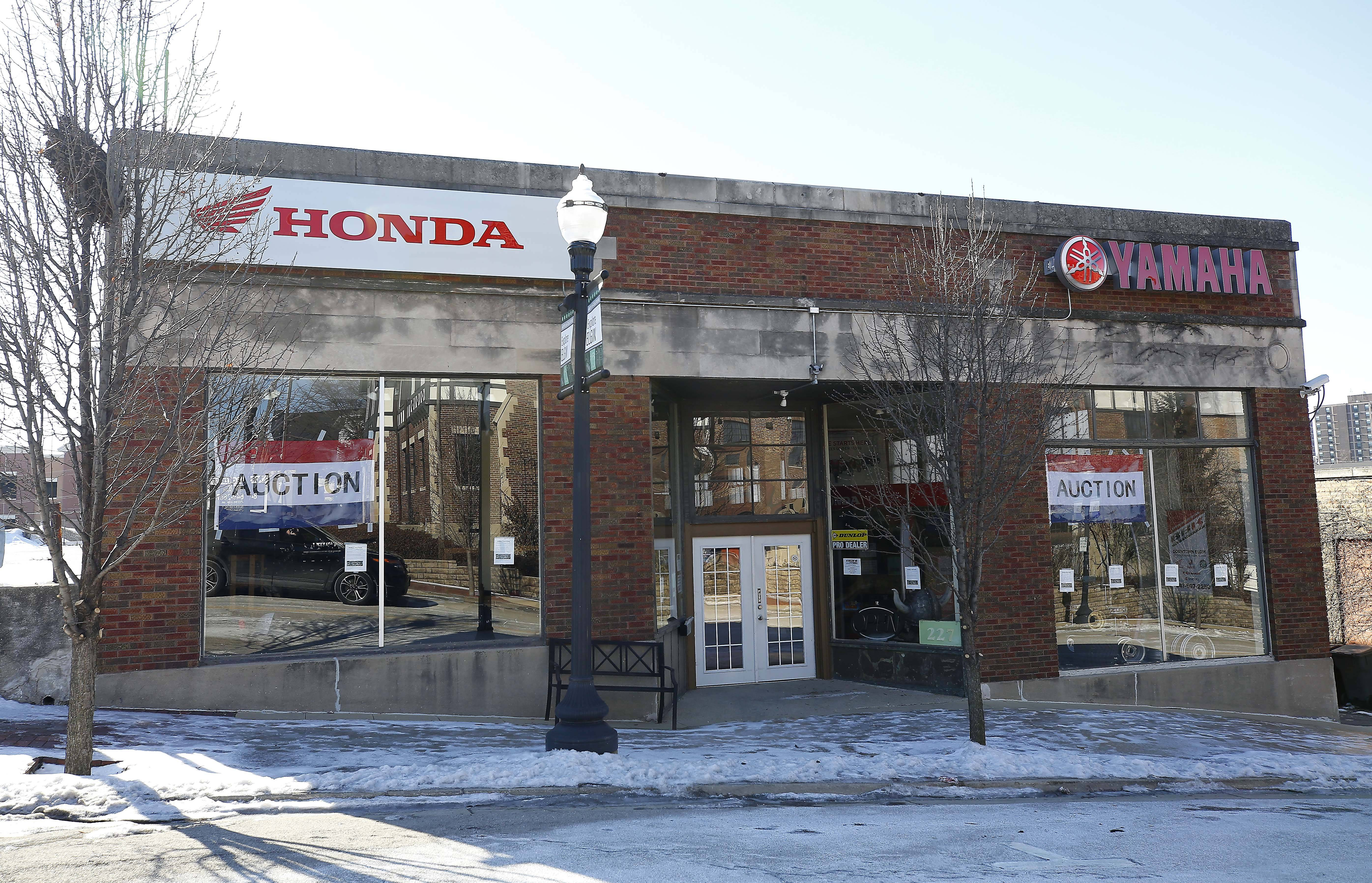 BBK Motorsport in Elgin, which closed in late December, will hold an out-of-business auction Saturday at 227 DuPage St.