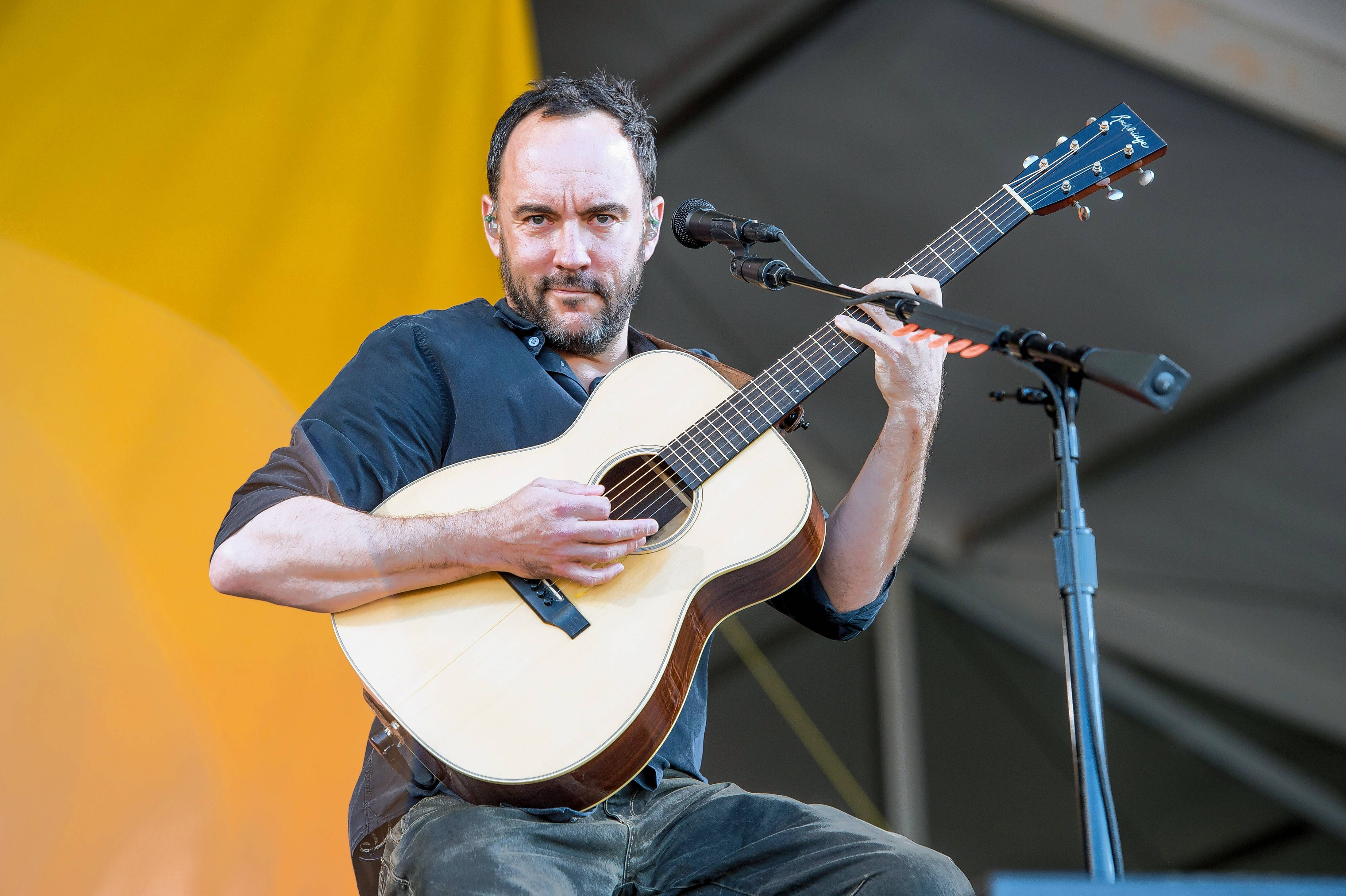The Dave Matthews Band performs at the Hollywood Casino Amphitheatre in Tinley Park Wednesday, July 3.