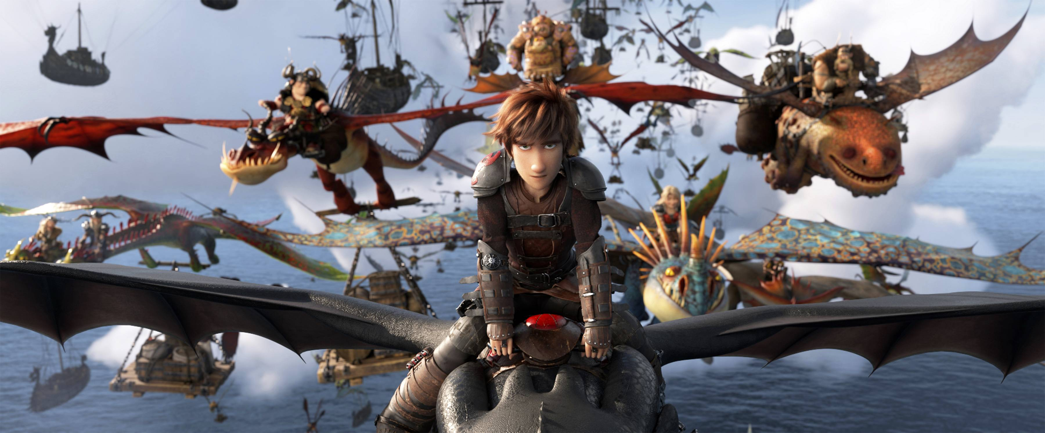 "Hiccup (voiced by Jay Baruchel) faces a new threat in ""How to Train Your Dragon: The Hidden World."""