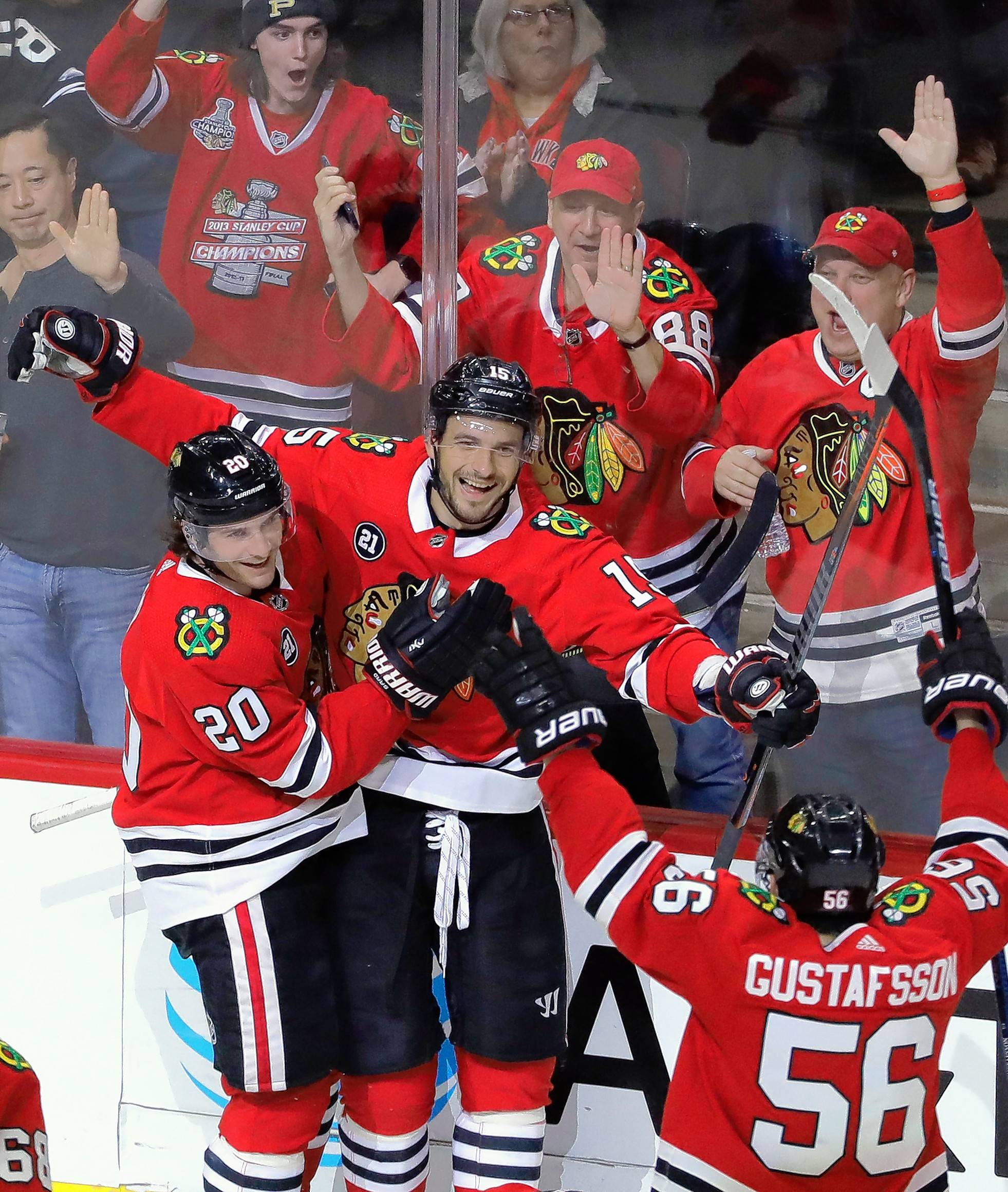 The Chicago Blackhawks are about to play their two biggest games of the season — and both will be at the United Center. If the Hawks can defeat both Colorado and Dallas over the weekend, it will go a long way in proving they plan to make plenty of noise down the stretch ... and perhaps into the postseason.