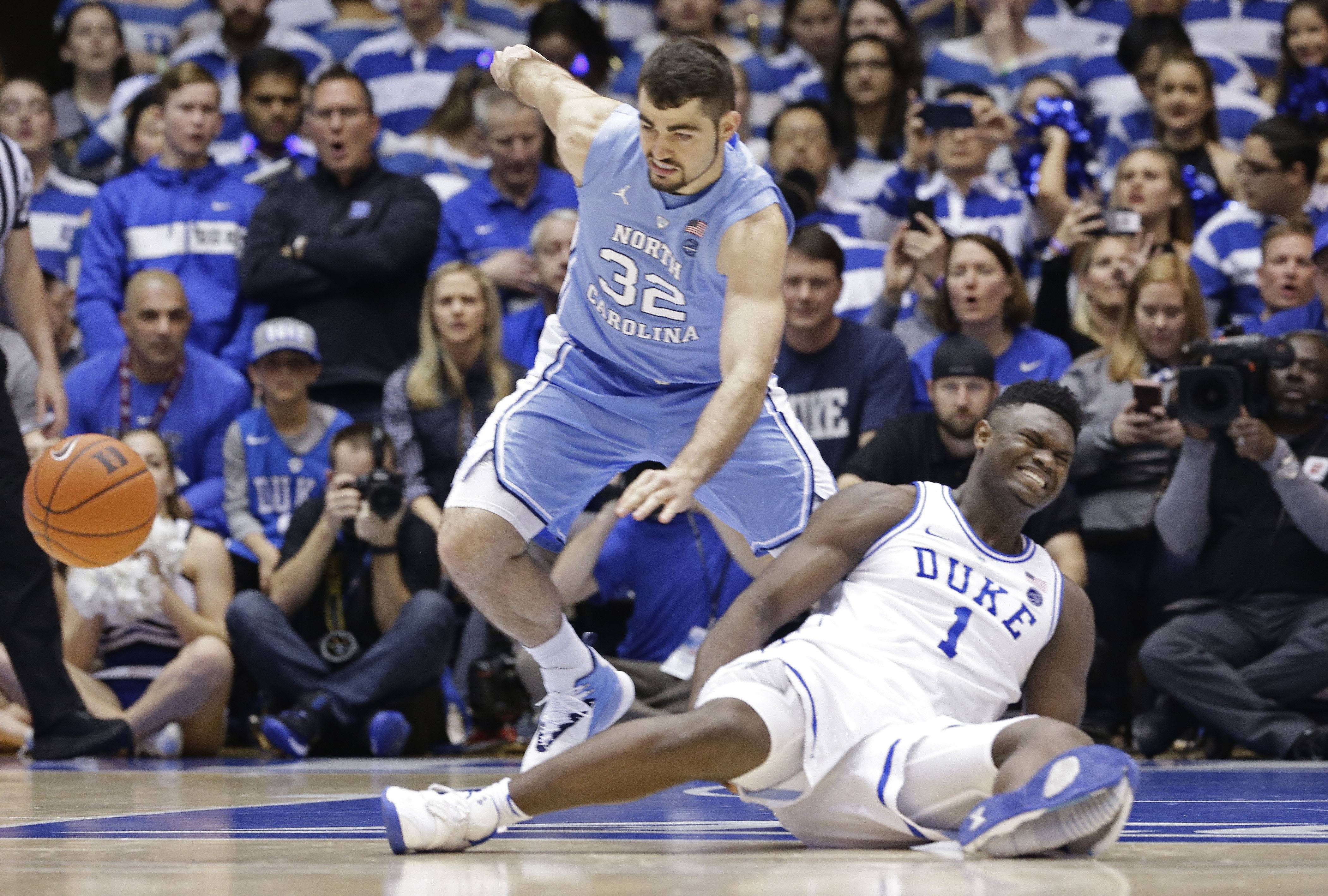 No. 1 Duke, Zion Williamson figuring out what's next after knee injury
