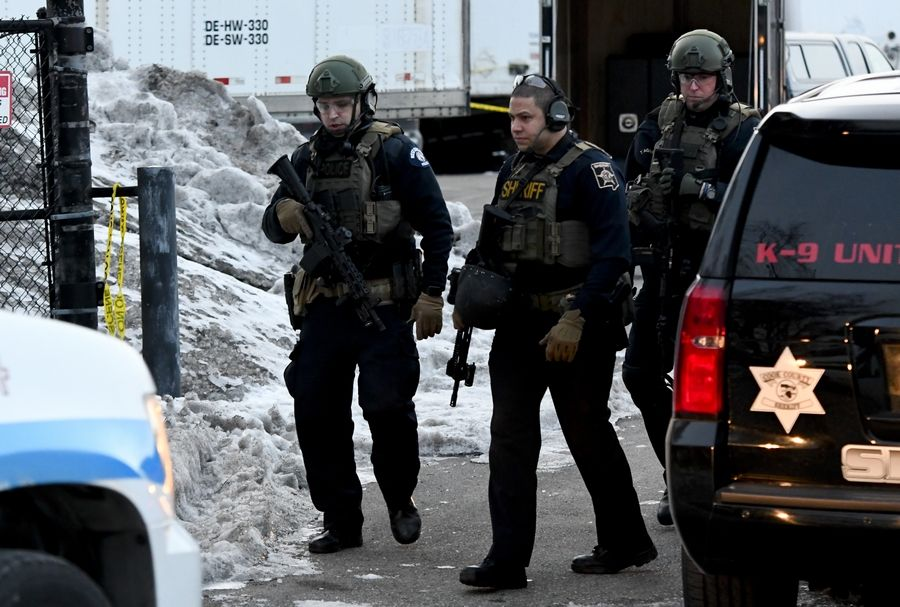 Law enforcement officers responding to active shooter situations like last week's at the Henry Pratt Co. in Aurora are trained to risk their own safety and engage the shooter as quickly as possible in hopes of reducing civilian casualties.