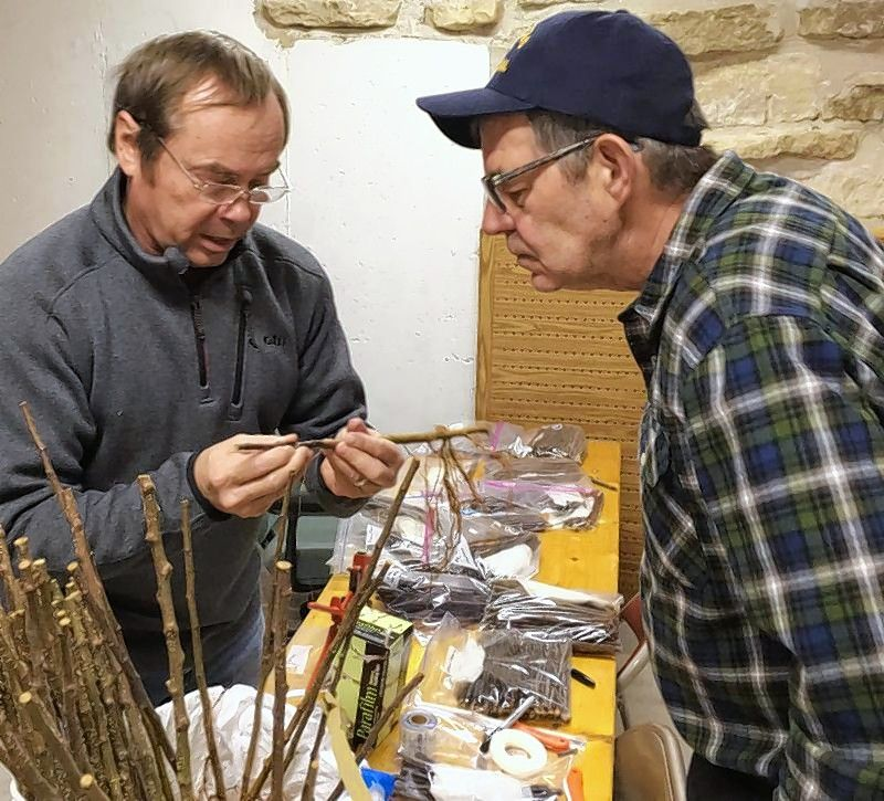 Apple tree expert Dan Bussey talks about apple tree grafting during a seminar at Garfield Farm Museum in Campton Hills. This year's seminar will be Saturday, March 3.