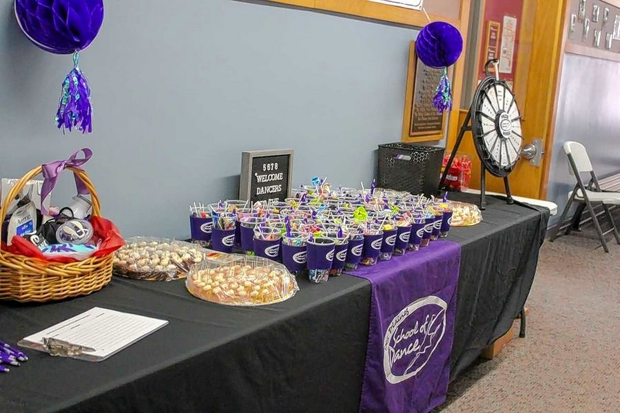 Special treats and giveaways were available at the Des Plaines Park District's School of Dance ribbon cutting ceremony. Nothing Bundt Cakes of Mount Prospect donated samples and coupons to attendees.