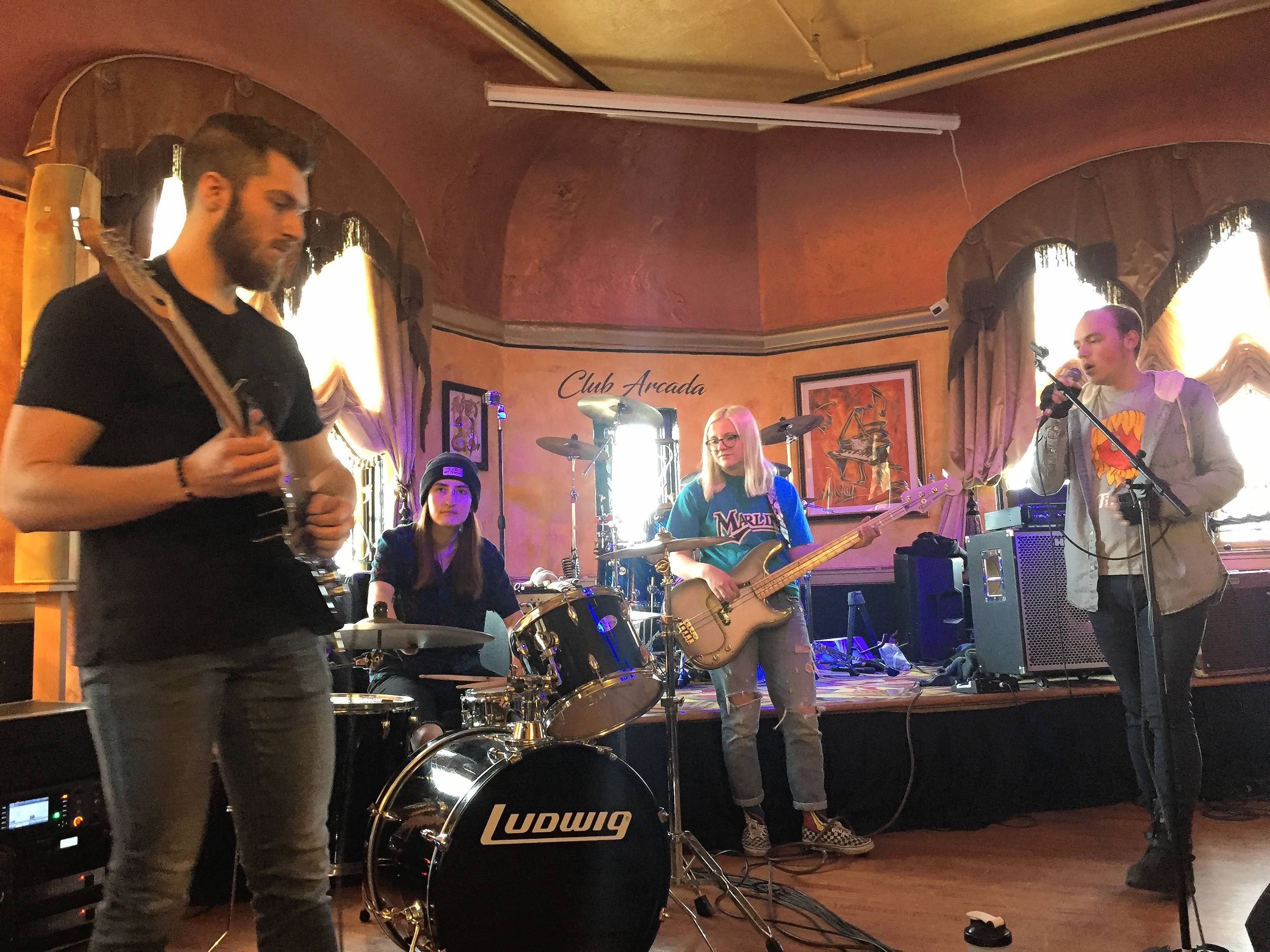 Arcada gives local acts a chance on the big stage