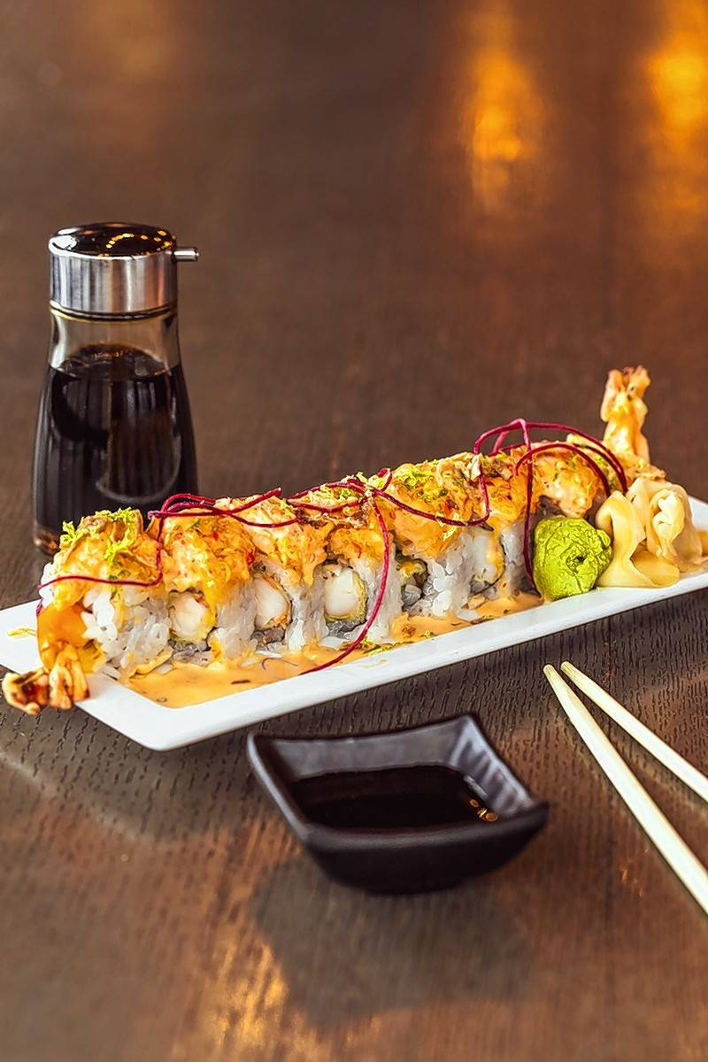 For Mardi Gras, Tokio Pub will be serving up the Crazy Cajun Roll.
