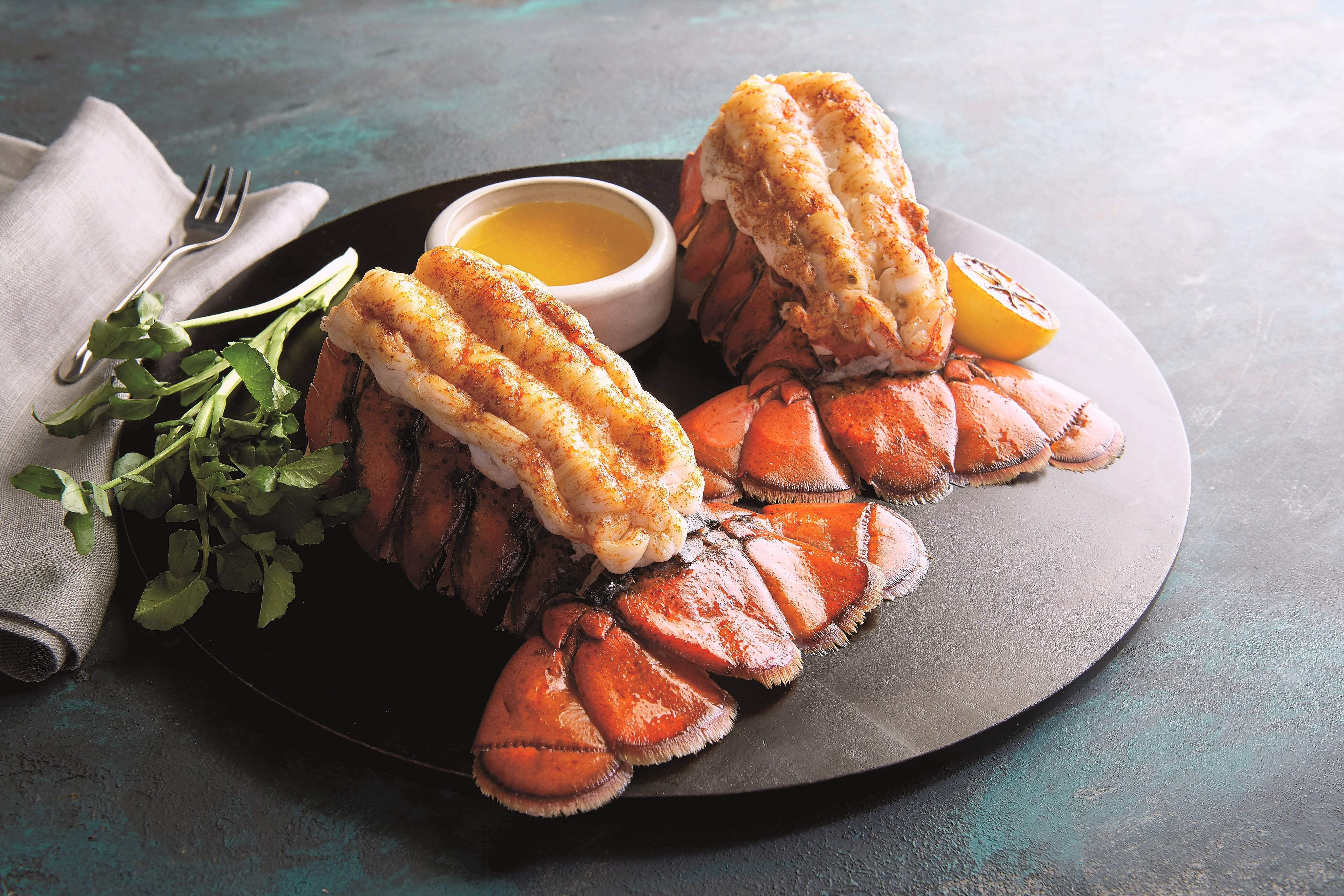 Morton's offers two steamed twin lobster tails for $39 on Fridays through April 12.
