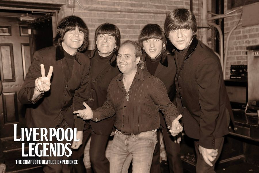 Liverpool Legends, a Beatles tribute band, performs Saturday, March 2, at Evanston Rocks!, and Sunday, March 3, at the Arcada Theatre in St. Charles.