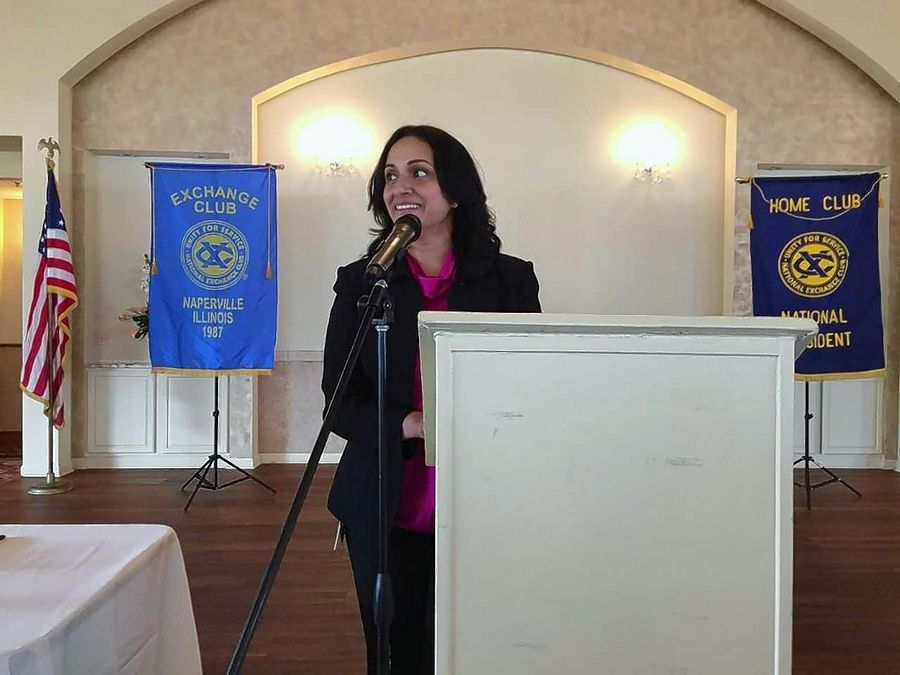 Dr. Sangita Rangala, medical director of the Edward Hospital Care Center, works with children and teens who have been sexually abused. The Exchange Club of Naperville announced Friday that the Care Center was one of the top two recipients of funding from last year's Ribfest celebration.