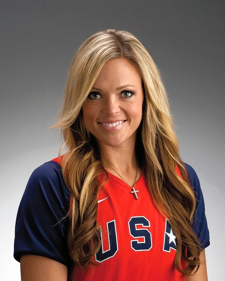 "Olympian and professional softball player Jennie Finch calls 9-year-old Marie Marcum a ""game-changer."""