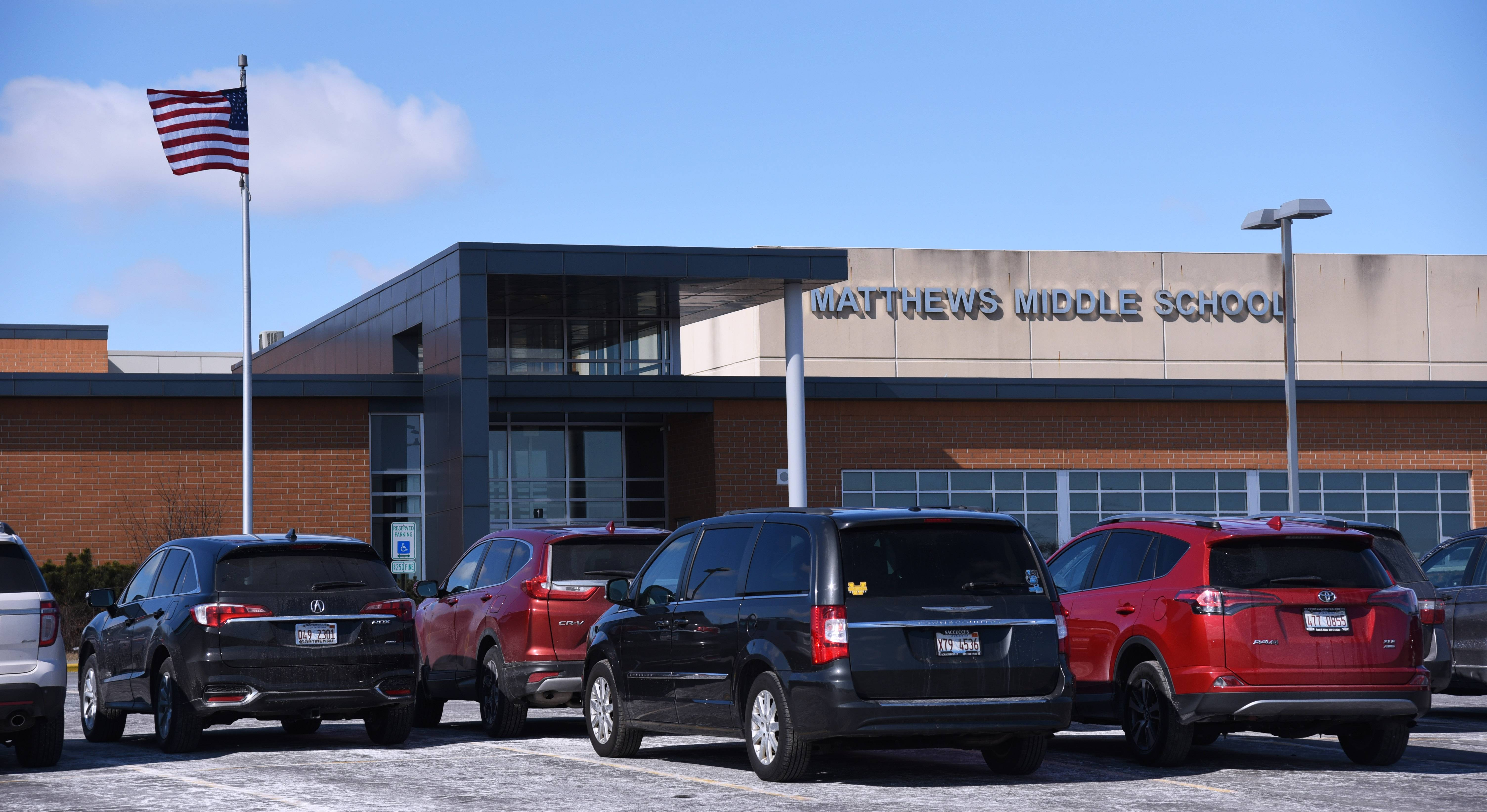 Matthews Middle School on Darrell Road in Island Lake will receive an influx of new students under boundary change proposals being considered by the Wauconda Unit District 118 board of education.